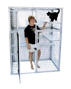 Finding the Appropriate Indoor or Outdoor Cage for Your Cat (Photographic Guide)