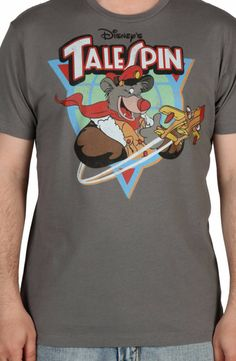 TaleSpin Shirt: 80s Cartoons Disney, Talespin T-shirt