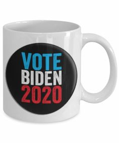 Vote Biden 2020 - Joe Biden for President, Joe Biden 2020, Biden Coffee Mug, Democrat Mug, Election 2020 Mug, Biden Gift Mug, Vote Blue