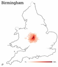 The distance workers commute to cities – mapped Map Of Great Britain, University Of Sheffield, City Maps, The Guardian, Birmingham, Cities, Distance, Birmingham Alabama, Long Distance