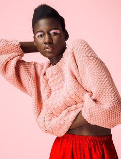 "Grazia South Africa, ""Pastel Pink"" fashion editorial, fashion lookbook."