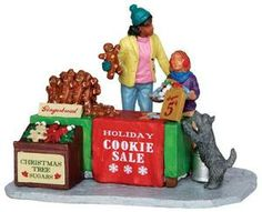 Lemax Holiday Cookie Sale #33008 - Miniature Christmas Village Table Accent