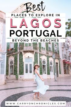 5 Fun Things to Do in Lagos Beyond the Beaches If you want to experience Portugal's Western Algarve beyond the beach scene, here are five of the best alternative things to do in Lagos. Portugal Travel Guide, Europe Travel Guide, Backpacking Europe, Travel Deals, Travel Hacks, Travel Essentials, Europe Packing, Traveling Europe, Packing Lists