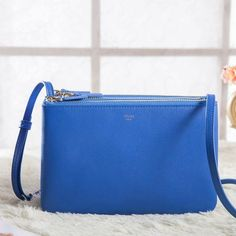 low-cost Celine Small Trio Crossbody Bag In Blue Calfskin on sale online, save up to 70% off dokuz limited offer, no tax and free shipping.#handbags #design #totebag #fashionbag #shoppingbag #womenbag #womensfashion #luxurydesign #luxurybag #luxurylifestyle #handbagsale #celine #celineparis #celinebag