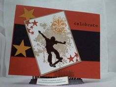 Skater Boy Birthday! by cheeriolafs - Cards and Paper Crafts at Splitcoaststampers