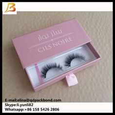 0666f7dd6be Drawer eyelash box packaging, mink fur lash packing, custom eyelash box Pls  feel free