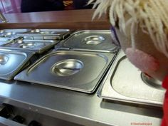 Niks te ruiken au bain marie opwarmen verhitten voedsel http