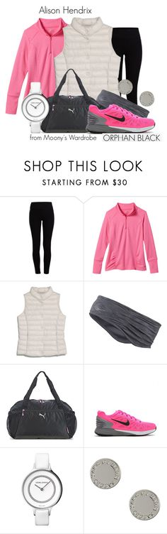 """""""Alison Hendrix"""" by evalupin ❤ liked on Polyvore featuring Pieces, maurices, MANGO, Puma, NIKE, Georg Jensen, Marc by Marc Jacobs, OrphanBlack and AlisonHendrix"""