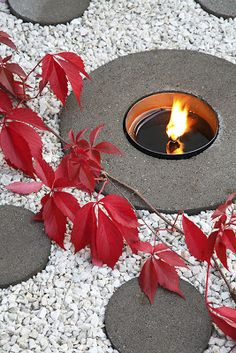 A small fire pit. From Hasselfors Garden, Sweden
