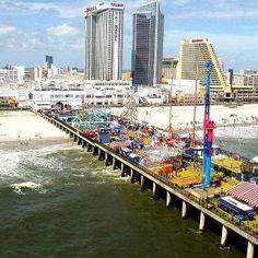 Steel Pier in Atlantic City, NJ