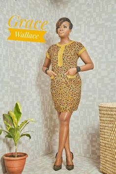 Ankara Xclusive: Classic, Stylish and Latest Ankara Short Dresses 2018 for Smart Ladies Short African Dresses, African Blouses, Latest African Fashion Dresses, African Print Dresses, African Print Fashion, Short Dresses, Ankara Fashion, Long Gowns, Ankara Short Gown Styles