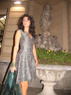 Christmas look... #ootd #fashionblogger #lasciarpaviola #damascato #green