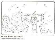 van stip naar stip: Mozes en de 10 geboden