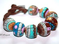 transformation of unwanted beads from polymer clay.  creation of textures and colors.  | Fair Masters - handmade, handmade