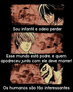 Frases Death Note