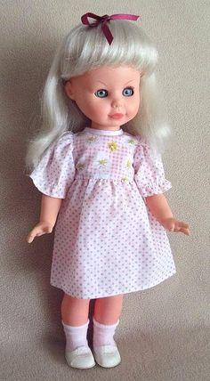 Sorinella Zanini e Zambelli Italian doll from the 70's.