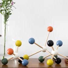 Molecule Building Set - Decorative Accessories - Living - Products - Blue Sun Tree