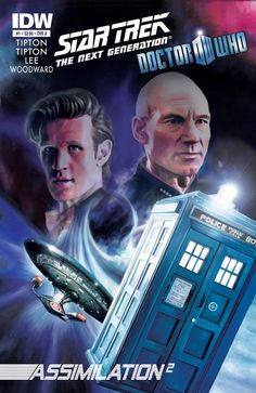 Crossover Star Trek - Doctor Who.  This came out last May?? I'm going to have to read this if my life is ever going to be complete!!!