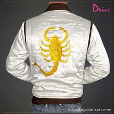 • Drive Scorpion Ryan Gosling Jacket - Lightweight jacket is Perfect for Spring and Summer.  •