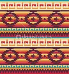 Native American Tribal Beading Patterns | Native american pattern — Stock Vector © Ekaterina Molodtsova ... by smetana