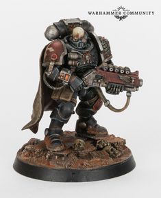 With all the Warhammer Kill Team excitement that has been building in anticipation of Elites hitting the shelves this . Warhammer 40k Figures, Warhammer Paint, Warhammer Models, Warhammer 40k Miniatures, Warhammer Fantasy, Miniaturas Warhammer 40k, Sci Fi Miniatures, Minis, Tabletop