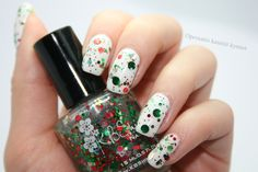 KBShimmer - Kringle All The Way All The Way, Usb Flash Drive, Nail Art, Random, Nails, Winter, Finger Nails, Winter Time, Ongles