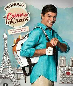 Na promoção Crème de laCreme Cacau Show. Concorra a 7 viagens para Paris,  com direito a acompanhante + R  15.000,00 para gastar na viagem e ainda  1000 ... 955875ea7f