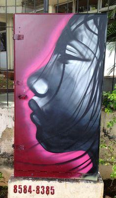 Arte de Rua #Grafitti  by Decy - Street Art. Goiânia-GO