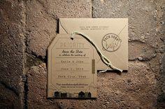 modern brown wedding stationary   Deer Valley Utah Wedding    Pepper Nix Photography
