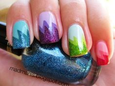 Glitter Ombre Dip Dye Nail Polish 3 Colors - LoveItSoMuch.com