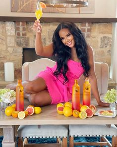 """Angela Simmons on Instagram: """"It's happy hour somewhere 💞 Miami and Summer citrus ? I'll take it! Ciroc summer citrus is dropping summer early for a limited time !! Grab…"""" Angela Simmons, Fun Drinks, Happy Hour, Miami, Photoshoot, Instagram Ideas, Celebrities, Cheers, Smoothie"""