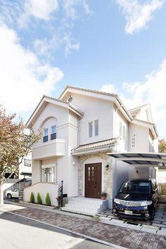 Ideas Design Home Plans Exterior Colors Design Home Plans, Home Room Design, Bungalow House Plans, New House Plans, Bungalow Ideas, Minimal House Design, Modern Design, Style At Home, Japan Modern House