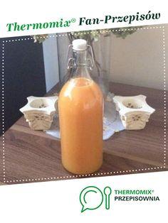 Sok Kubuś z marchwi jest to przepis stworzony przez użytkownika seduzia. Ten przepis na Thermomix<sup>®</sup> znajdziesz w kategorii Napoje na www.przepisownia.pl, społeczności Thermomix<sup>®</sup>. Home Made Soap, Hot Sauce Bottles, Food And Drink, Homemade, Impreza, Diet, Thermomix, Food And Drinks, Homemade Dish Soap