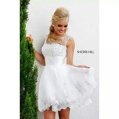 Sherri Hill dress thats perfect for a wedding