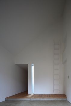 minimalist. love the slit window.