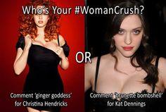 Christina Hendricks vs Kat Dennings