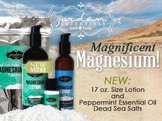 Jordan Essentials with healing elements from the Jordan River