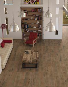 Suelo porcelanico imitacion madera decoracion para casa - Suelo imitacion parquet ...