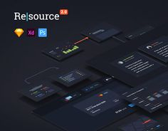 "Check out new work on my @Behance portfolio: ""Resourсe 