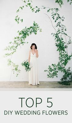 Top 5 DIY Wedding Fl