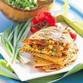 Corn and Pepper Jack Quesadillas
