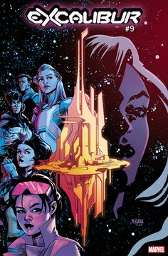 Marvel Comics claims Tini Howard and Marcus To's Excalibur will have an impact on all of the publisher's mutants. Marvel Comics Art, Marvel Comic Books, Comic Books Art, Marvel Xmen, Book Cover Art, Comic Book Covers, Book Art, X Men, Dragon Comic