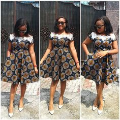 The best collection of unique and classic ankara gown styles of these ankara gowns are classically made Ankara Short Gown Dresses, Short African Dresses, Ankara Gown Styles, Short Gowns, Latest African Fashion Dresses, African Print Dresses, African Print Fashion, Dress Styles, African Attire