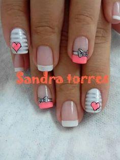 New Nail Art Design, Nail Art Designs, Fabulous Nails, Gorgeous Nails, Cute Nail Art, Cute Nails, Manicure And Pedicure, Gel Nails, Nails 2015