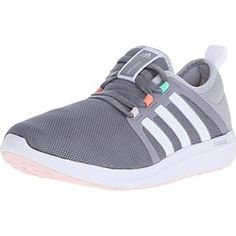 100% authentic 7ce99 c942b adidas Performance Womens Fresh Bounce W Womens Running Shoe,GreyWhiteMid  Grey