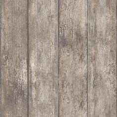 DecoMode vliesbehang Hout bruin | Praxis