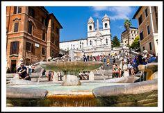Spanish Steps - Rome, via Flickr.