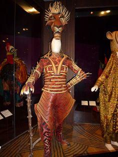 The Lion King Costumes by Elizabeth Harkin, via Flickr