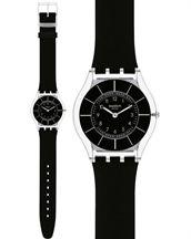 Εμφάνιση λεπτομερειών Ρολόι Swatch Black Classiness Skin SFK361 35c32bd1964