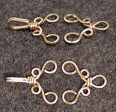 Cool clasp (dead link) But image explains itself
